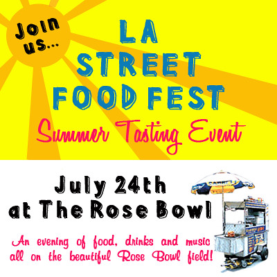 LA street food fest graphic