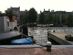 Voor de Hermitage aan de Amstel