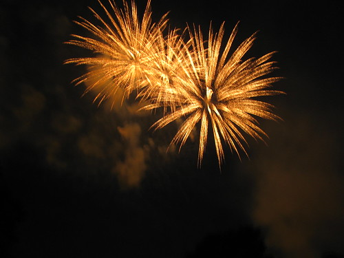 1-yellow fireworks