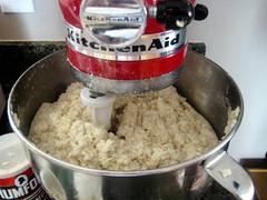 Mixing the Tamal Dough