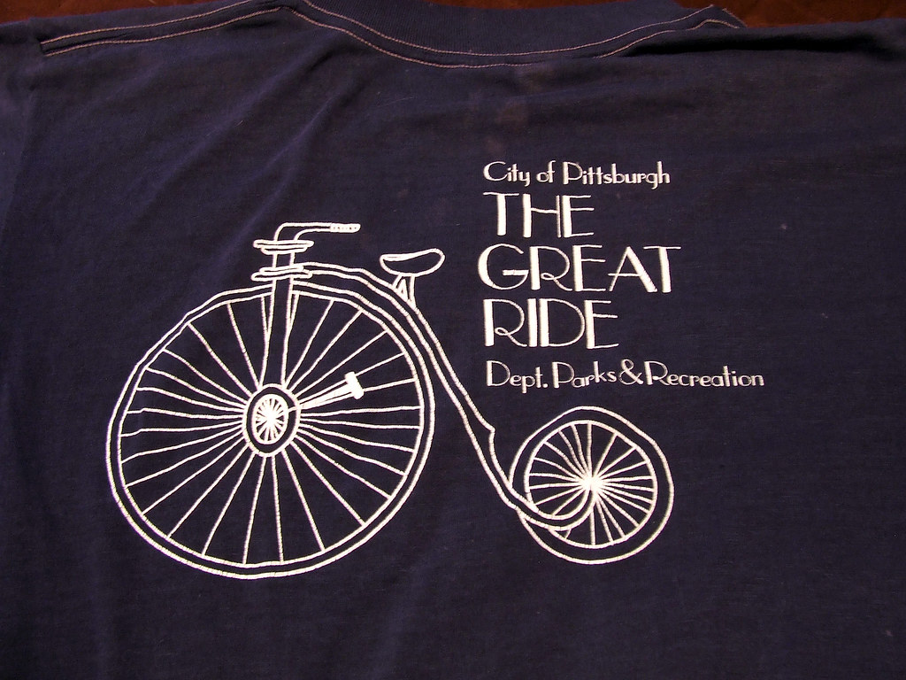 Vintage Pepsi Bicycling T-shirt