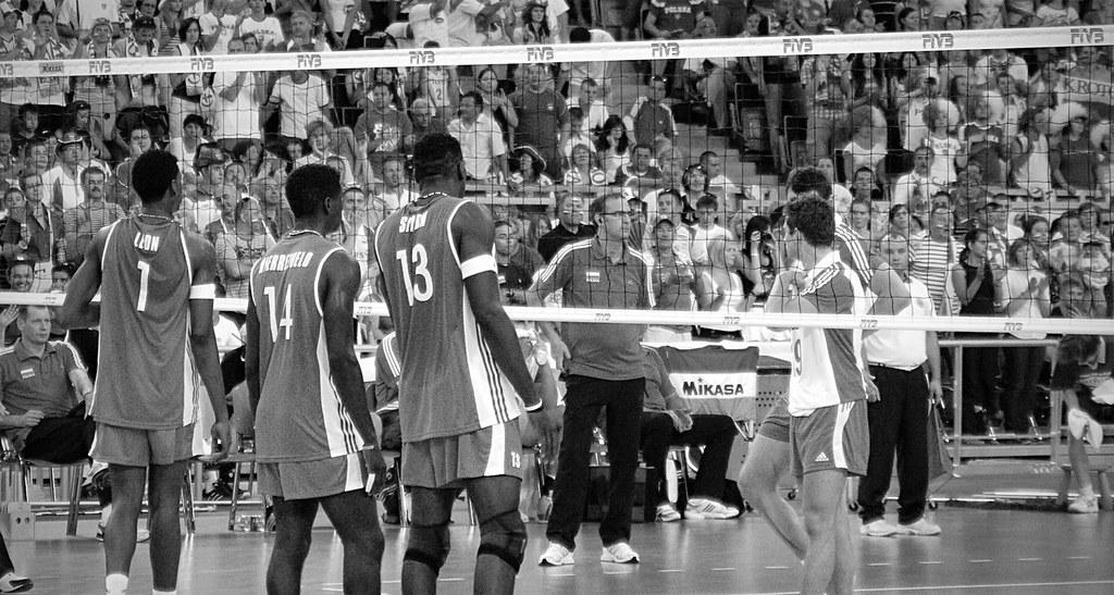 Poland - Cuba / Voleyball Match
