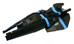Nitghtraven (Brainbikerider) Tags: lego space stealth moc starfighter spacefighter nightraven foitsop