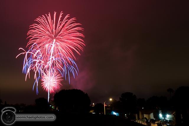 Mira Mesa Fireworks 70410 © Michael Klayman-003