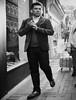 il ballerino (The Dancer) (Ian Brumpton) Tags: london blancoynegro blackwhite noiretblanc streetportrait il coventgarden biancoenero ballerino lifeinslowmotion aimlessstrolling
