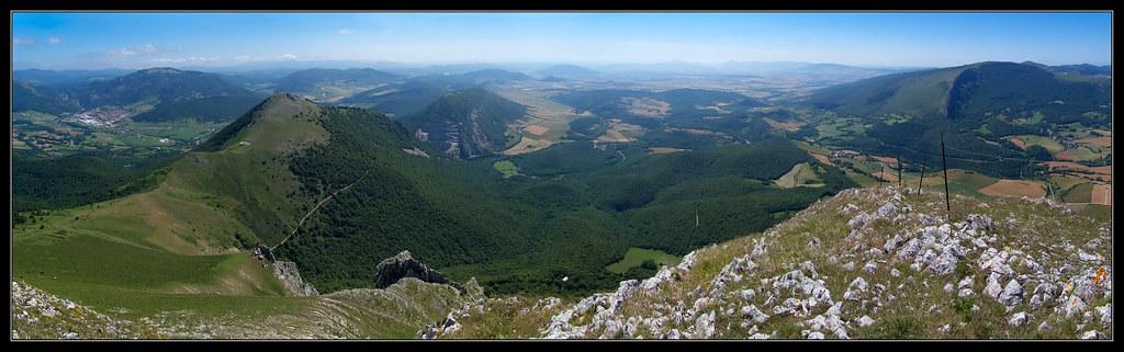 Vista desde el extremo del Churregui