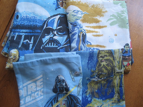 Star Wars Sheets and Pillow Cases