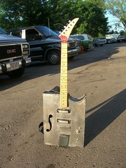 the boat anchor (aaron fisher) Tags: electric guitar steel welding weld welded hollowbody teisco