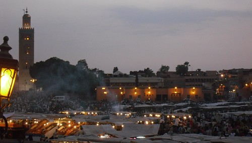 37 Djemaa el Fna at dusk