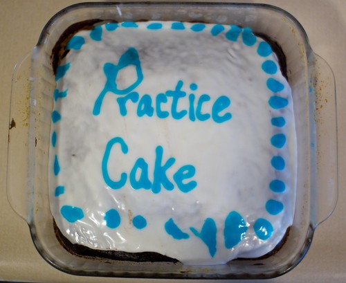 Practice cake
