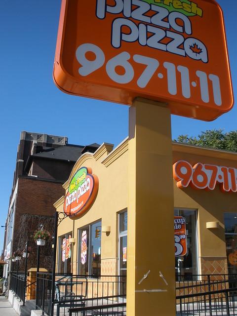 Scott Pilgrim Toronto Canada ubiquitous Pizza Pizza