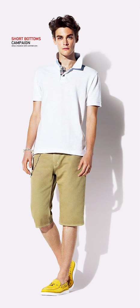 UNIQLO 0421_SHORT BOTTOMS CAMPAIGN SS10_Jonas Kesseler