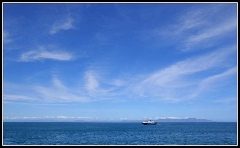 A Beautiful Day in Cook Strait
