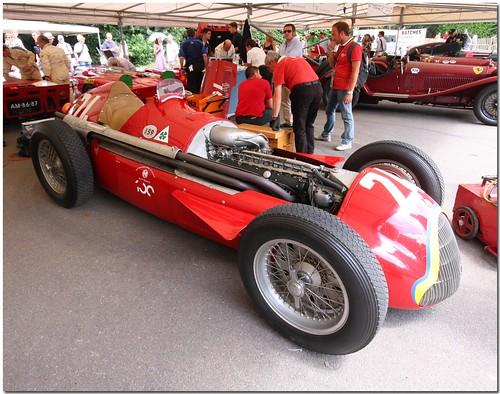 1951 Alfa Romeo Tipo 159 Alfetta. 1951 Alfa Romeo Tipo 159 quot;Alfettaquot; Goodwood Festival of Speed 2010