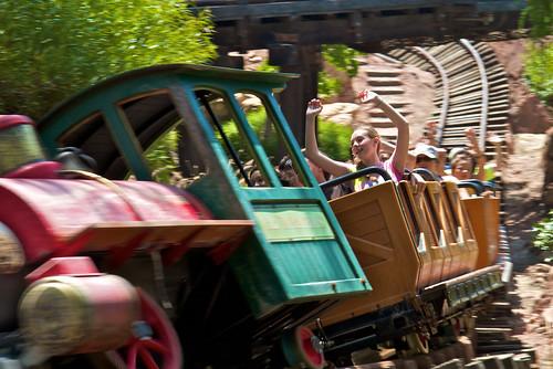 Disneyland Rollercoaster