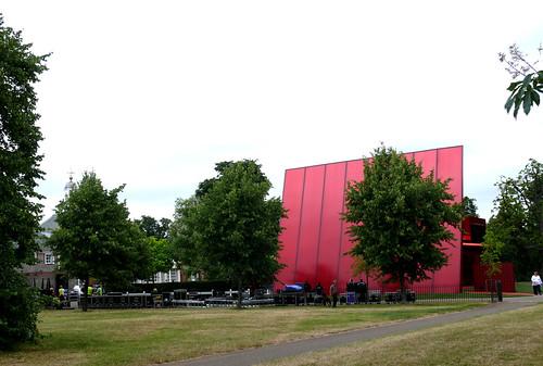 Serpentine Gallery Pavilion, Jean Nouvel, 2010.
