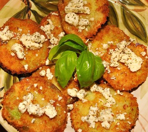 Mmm...fried green tomatoes