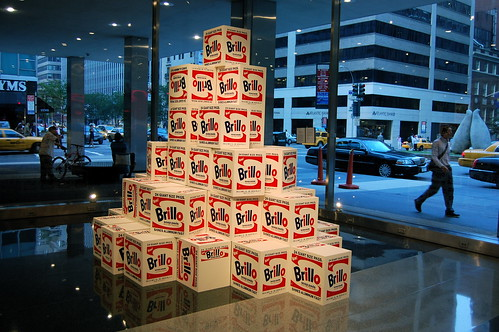 Mike Bidlo, Not Warhol (Brillo Boxes, 1964), 2005