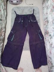 green tripp pants (Shadow Bromide) Tags: black green pants dirty tripp pockets baggy