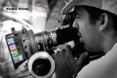 Filtros (PedroRivas) Tags: bw canon cine perú bn parasol 5d 16mm makingof cameraman arri cámara arriflex filtros super16 sr16 camarógrafo 5dmarkii 5dm2 matebox pedrorivas detrasdecámara follusfocus