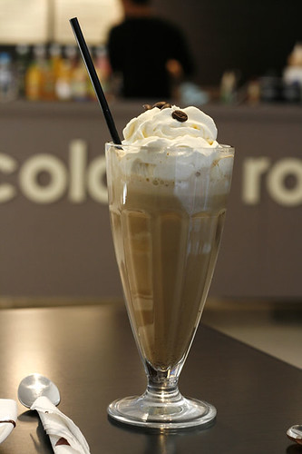 The Chocolate Room's Iced Coffee