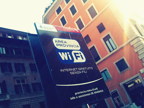 Free Wi-fi Provincia di Roma
