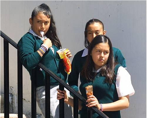 dieta de estudiantes mexicanos