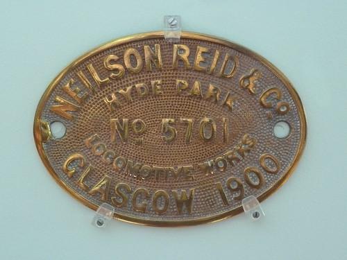 Neilson Reid works plate