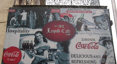 Leopold at Colaba Bombay