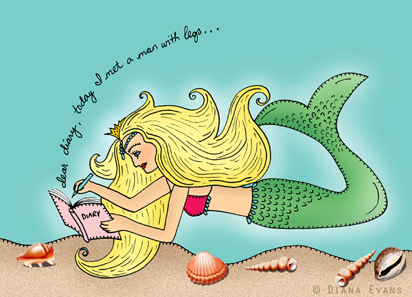 mermaid diary
