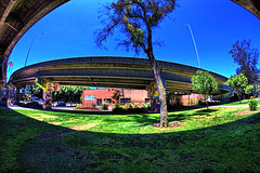 Chicano Park-13 (ASHCROFT54) Tags: photoshop canon sandiego wideangle icon fisheye vivitar hdr chicanopark f35 7mm mexicanculture barriologan tinarice 40d loganheights dynamicphotohdr callfornia ashcroft54 topazdenoise topazdetail underpassofcoronadobridge mexicanheitage fisheyepersspective