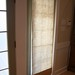 French Door Roman Shade for Privacy