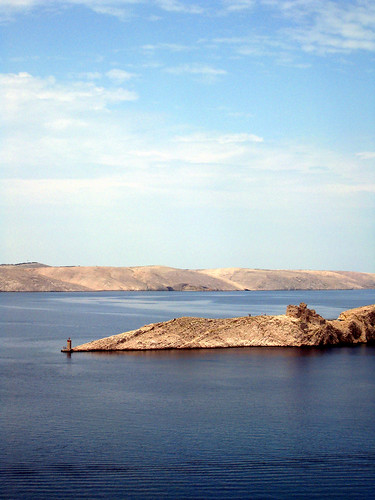 Crossing to Pag Island
