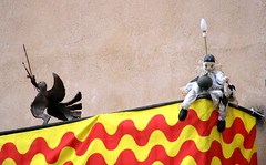 Tarragona festlich geschmückt, Katalonien