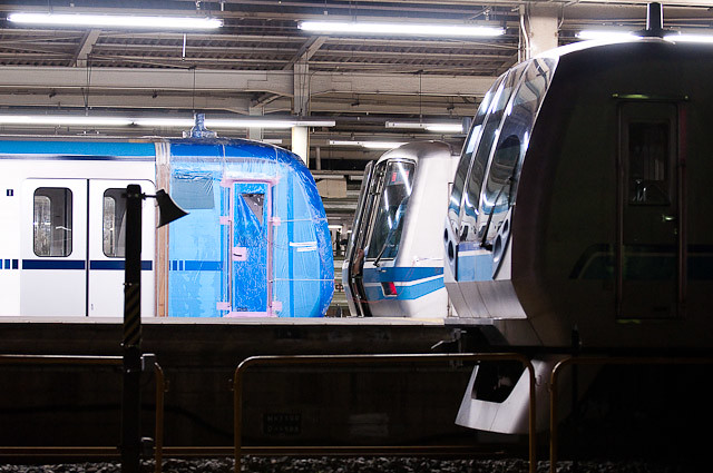 東京メトロ東西線15000系15103F 甲種輸送・搬入回送