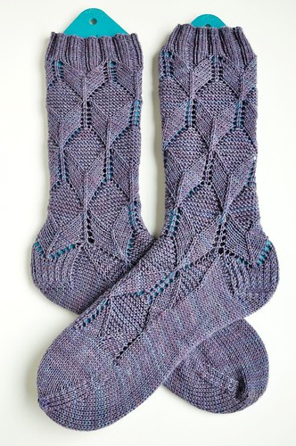 Cubist socks done-
