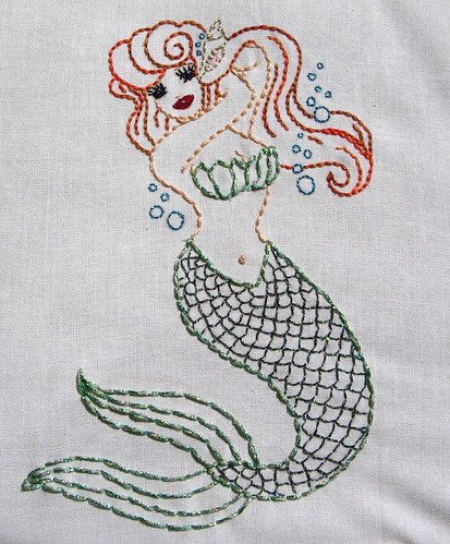 sparkly mermaid--complete
