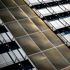 Band of gold (Jo Dooher) Tags: abstract building canon gold office camden g11