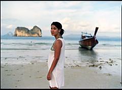 . (moune.drah) Tags: sea film beach analog mediumformat thailand island 645 southeastasia south southern 45mm pentax645 tavelling