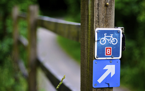 This Way For Cycle Route Eight