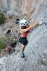 Dong Liu - Climbing White Snake 6A+ (Amicus Telemarkorum) Tags: greece climbing rockclimbing whitesnake 6a kalymnos thecave sportclimbing dongliu advancedyetiphotography jeffreyrueppelphotography climbinggirl