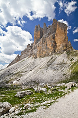 Tre Cime di Lavaredo (johnny XXIII & francy VI) Tags: italy mountain alps italia 7d alpi ultrawide montagna dolomiti mountainscape veneto trecime sigma1020 lavaredo canoneos7d dragondaggerphoto yourwonderland magicunicornverybest magicunicornmasterpiece
