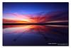 The Burst. ([ Kane ]) Tags: pink blue red sky sun water canon reflections landscape sand rocks zoom australia brisbane workshop qld queensland 5d kane wellingtonpoint gledhill kanegledhill 5dmarkii wwwhumanhabitscomau kanegledhillphotography