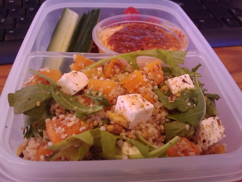 #418 - Butternut and Feta Couscous Salad