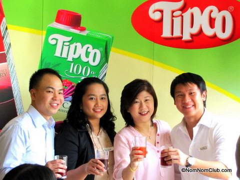 Tipco Fruit Juice Officials