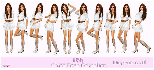 [doll.]™ Chloe Pose Collection