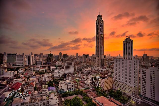 Bangkok tallest building Bayoke II