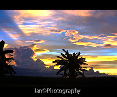 Sunset view from my backyard 2 (Ian ( been out of Photography for the past 2 years) Tags: kulay garbongbisayainternational