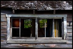 Whiskey Slough Window (Junkstock) Tags: wood old windows canada window rural photography photo exterior photos britishcolumbia decay rustic vancouverisland photographs photograph weathered aged distressed patina ruralexploration agedwindow