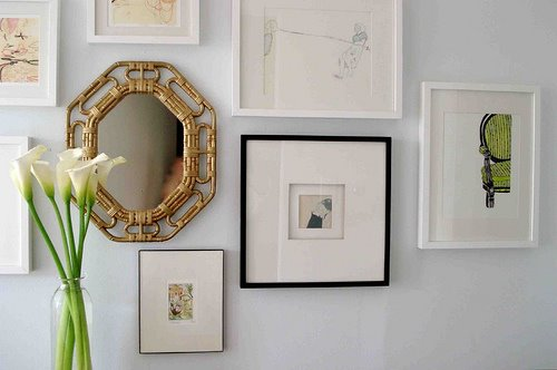 mirror and frames